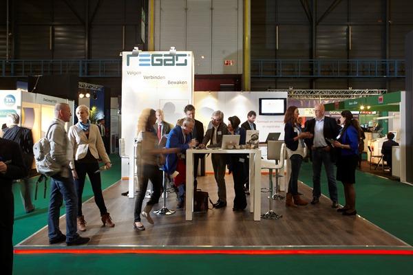 Regas stand Zorg & ICT 2012