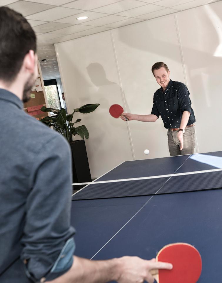 kantoor pingpong